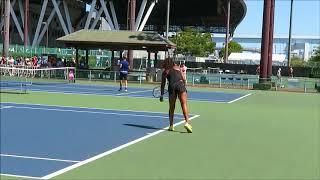 【Toray tennis】大坂なおみ(Naomi Osaka)選手のサーブ練習