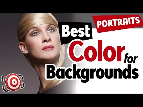 The Best Color Photography Background For Portraits Is Gray  - Studio Backdrop Tutorial