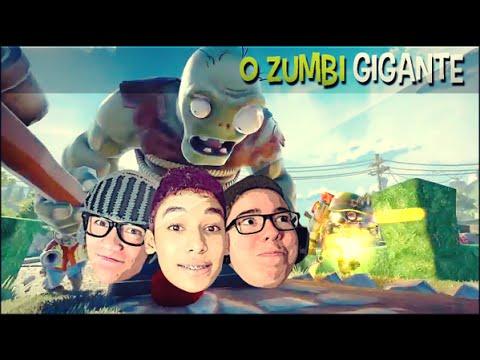 ZUMBI GIGANTE !! - Plants vs Zombies