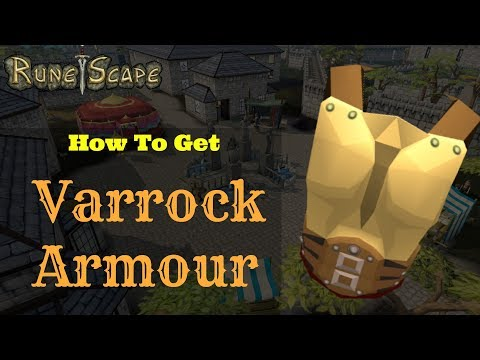 Runescape: How to Get Varrock Armour