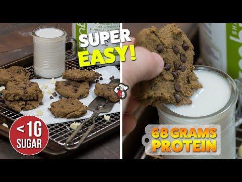 Easy Vegan Chickpea PROTEIN Cookies Recipe
