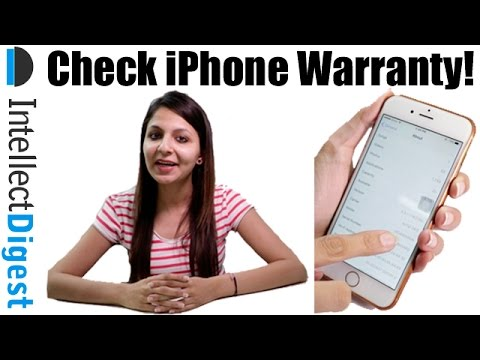 Check iPhone's Warranty For Free Replacement or Repair? | Intellect Digest