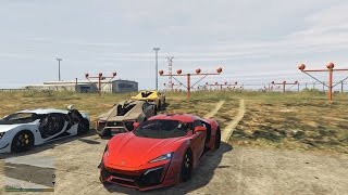 The Flash tham gia Fast and Furious 8 trong GTA V