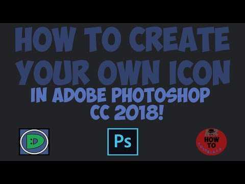 Depa TUTORIALS | HOW TO CREATE YOUR OWN ICON IN ADOBE PHOTOSHOP CC 2018!