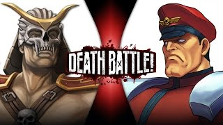Shao Kahn VS M. Bison   DEATH BATTLE!   ScrewAttack!