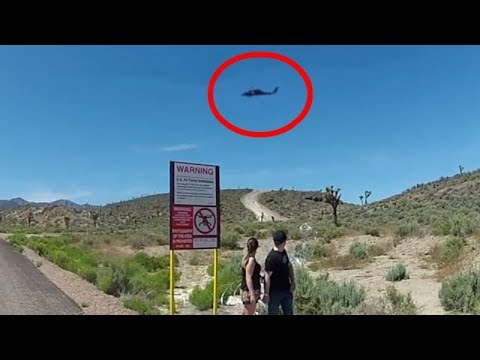 Area 51 Back Gate From Private Property (Full Documentary)