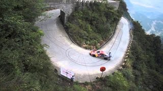 (Hd)Very Amazing Dangerous Car Driver In Chinas Mountains | Red Bull Drift