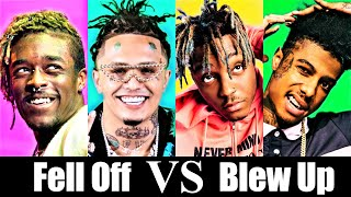 Rappers That Fell Off Vs. Rappers That Are Blowing Up