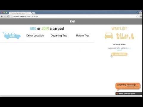 Carpool Signup Sheet Demo Video