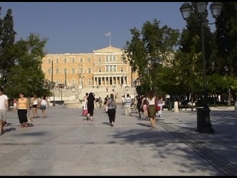 Greece 06 :Athens City Tour: Syntagma Square--The Constitutional Square of Athens (DV) (2006)