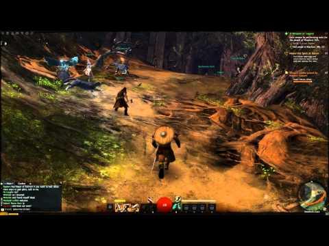 Guild Wars 2 Norn Warrior A Weapon of Legend - Gameplay Part 3