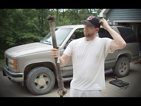 Can you drive without a front drive shaft? - Removing 4wd front drive shaft - Yukon / Tahoe