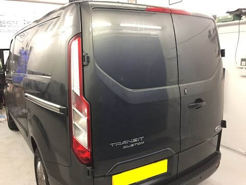 Ford Transit Custom Security Upgrade of the Ford Alarm & Extra Lock Installations
