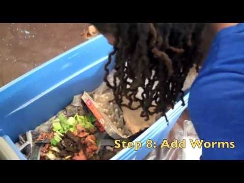 Easy Urban Gardening | DIY Compost Bin