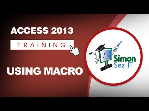 How to Use Macros in Microsoft Access 2013 - The Basics of Macros and the Macro Editor
