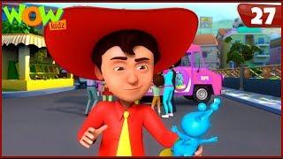 New Cartoon Show | Chacha Bhatija | Wow Kidz | Hindi Cartoons For Kids | Toy Store