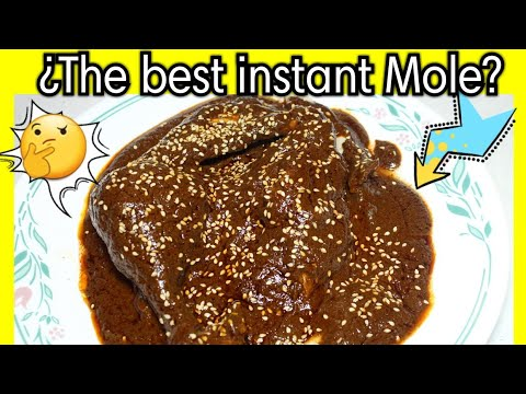 INSTANT MOLE POBLANO? | FOOD REVIEW
