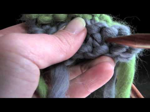 How To Count Rows on Garter Stitch - Not Just Counting Ridges