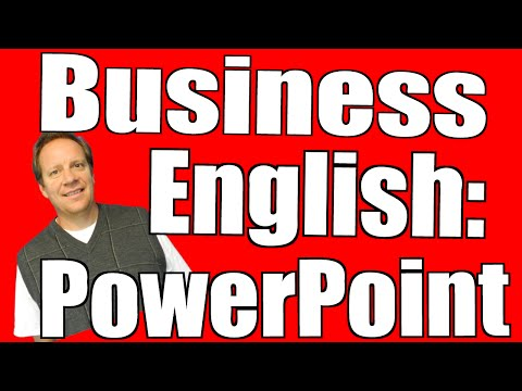 Business English Course |  Learn English and PowerPoint Together!