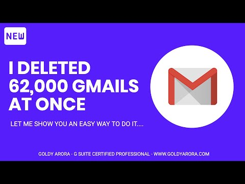 how to delete gmail messages in bulk