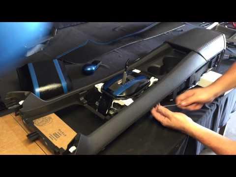 Remove camaro center console part 1