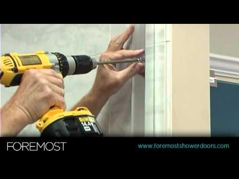 Sliding Shower Door Installation by Foremost