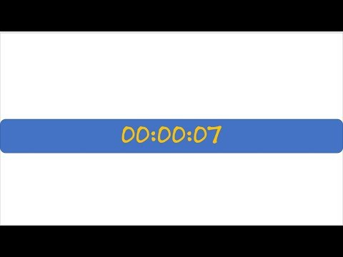 Code Real Count Down Clock using Power Point and VBA