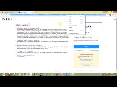 How to Secure Yahoo Account