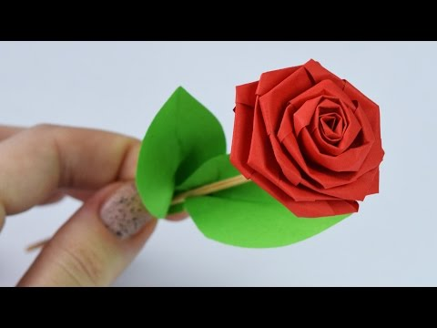 How to make: PAPER ROSE / DIY