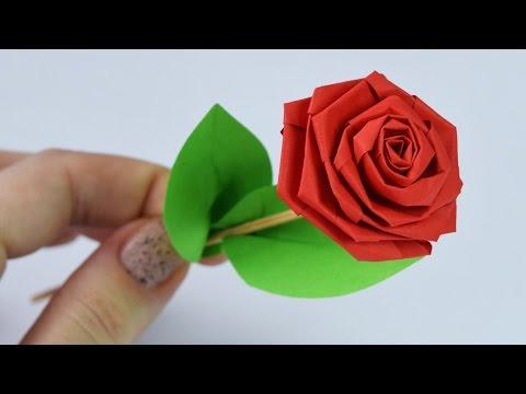 How to make: PAPER ROSE / DIY
