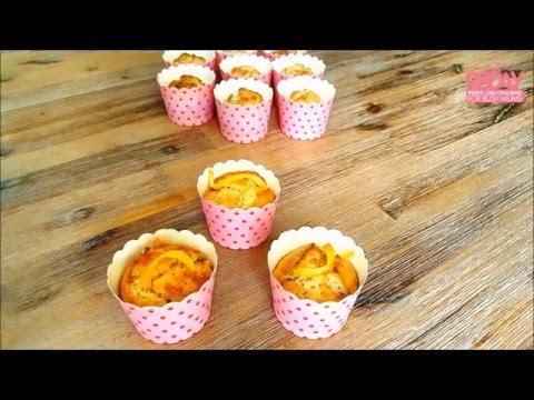 Orange & Poppy Seed Muffins