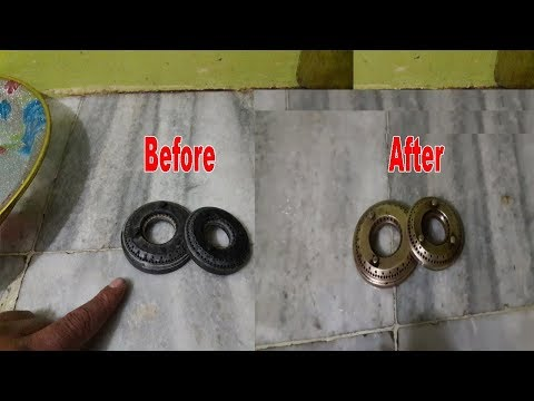 How to Clean Gas Burner at Home Easy Tips I Tricks in Hindi