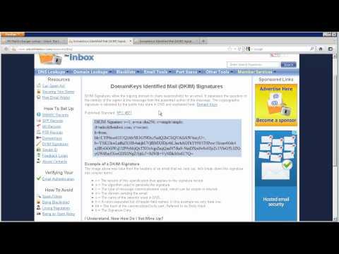 Unlock The Inbox - DNS Lookups - SPF/TXT Records