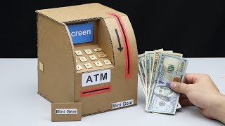 Download Wow! Amazing DIY ATM Machine from Cardboard Video