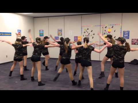 Ockerman Middle Dance Team Performs 1st Place Routine