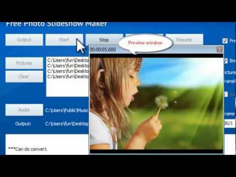 How to Make Slideshow with Music Using Free Slideshow Maker Software