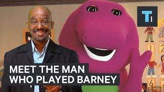 this man played barney the dinosaur for 10 years heres what it was like