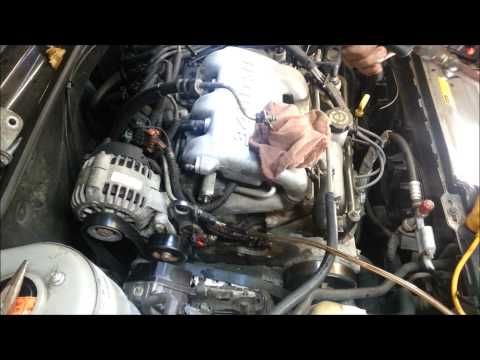Pontiac Grand Am/ Olds Alero 3.4 liter powersteering pump replacement
