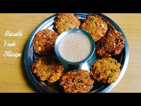 Masala dal Vada Recipe | Ambode | South indian style Vade Recipe