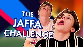 Jaffa Cake Challenge with The Wonderland's Harry & Oakley | Almost Never