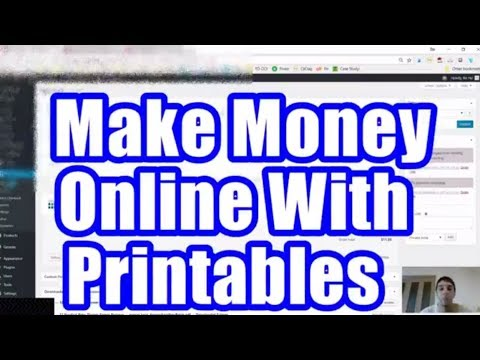 Make Money Online Selling  Printables Case Study And Guide