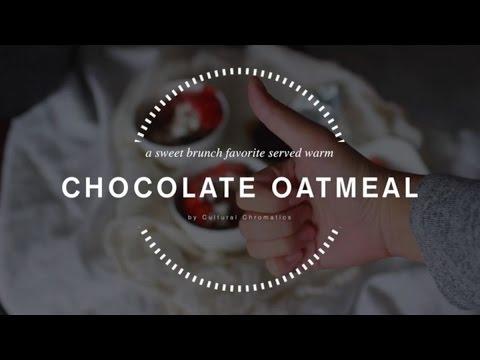 Dark Chocolate Steel Cut Oatmeal Bowl Recipe