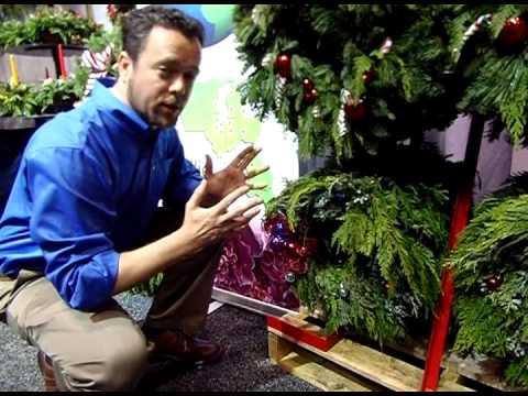 Xmas Greens: Super-Display Wreath Racks