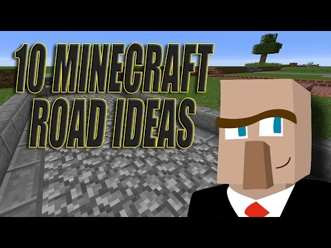 10 MINECRAFT ROAD IDEAS: Improve the Look of YOUR Builds!