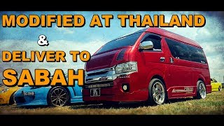 VAN HIACE SABAH Thailand Modified - HABIS 200K MODIFIED LUAR DALAM