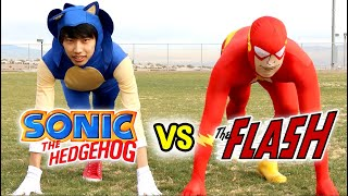 Sonic The Hedgehog vs The Flash - With Lethal Soul