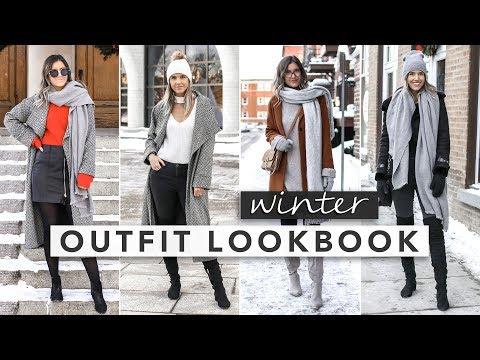 4 Winter Outfits Lookbook   by Erin Elizabeth