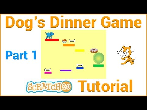 Make a Platform Game in Scratch (Part 1/5)