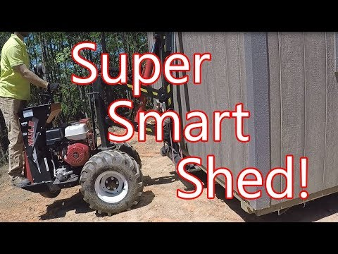 Smart Shed Delivery!