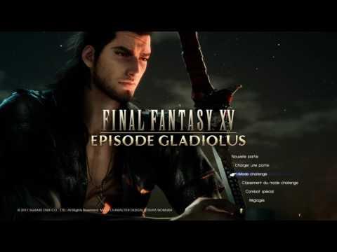 FINAL FANTASY XV - EP Gladiolus main menu music - Shield of the King